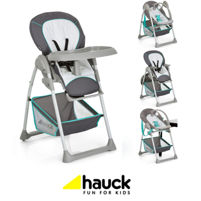 Hauck Sit N Relax 2 In 1 Highchair / Baby Bouncer Chair
