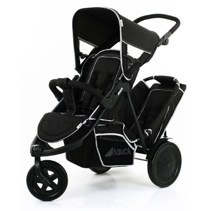 Hauck Freerider Tandem Stroller (Black)