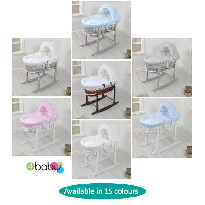 4baby Wicker  Rocking Stand 15   Dimple