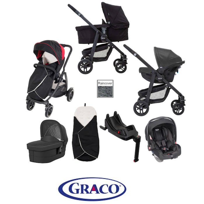 Graco Evo XT i-Size Travel System With Isofix Base