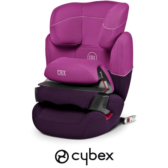 Cybex CBX Aura Fix Group 123 ISOFIX Car Seat - Purple Rain