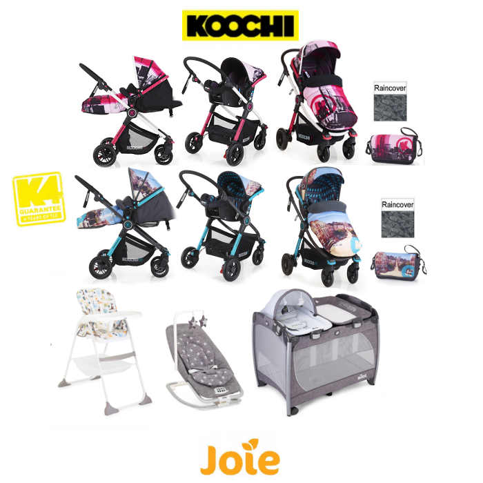 CosattoKoochiJoie Litestar Everything You Need Travel System Bundle