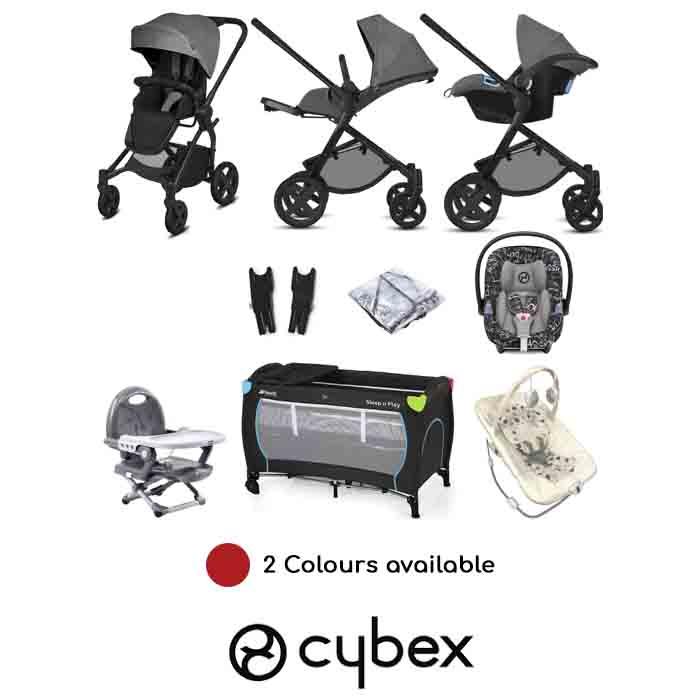 Cybex CBX Kody (Aton M i-Size) Everything You Need Travel System Bundle