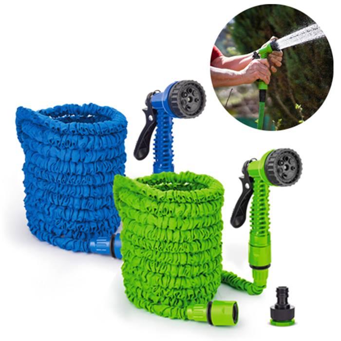 Green or Blue Garden Hose
