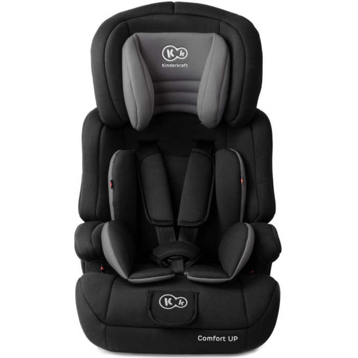 KinderKraft Comfort Up Group 1,2,3 Car Seat (Black)