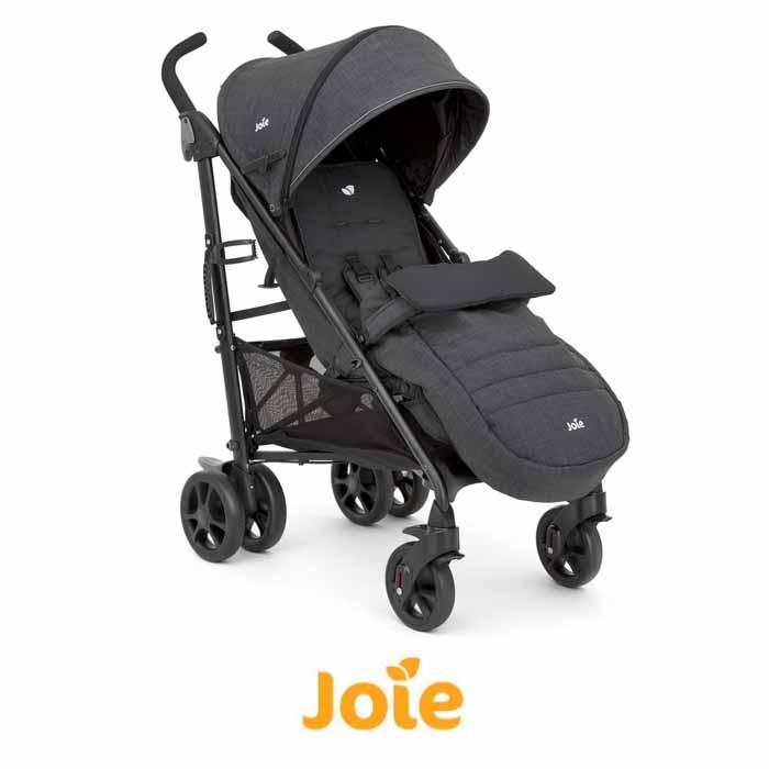 Joie Brisk LX Stroller Pushchair With Footmuff - Pavement