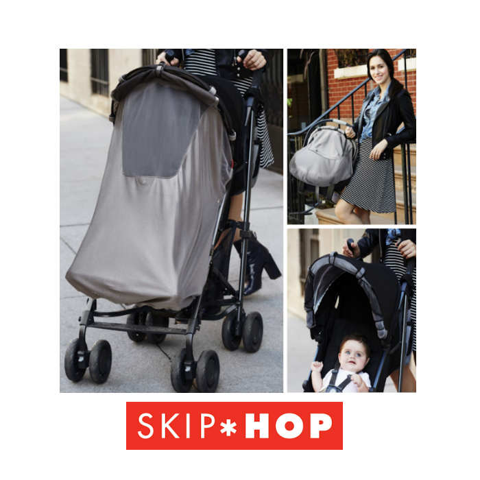 Skip Hop 2 in 1 Stroll  Go Pushchair  Car Seat Sleep Sun Shade