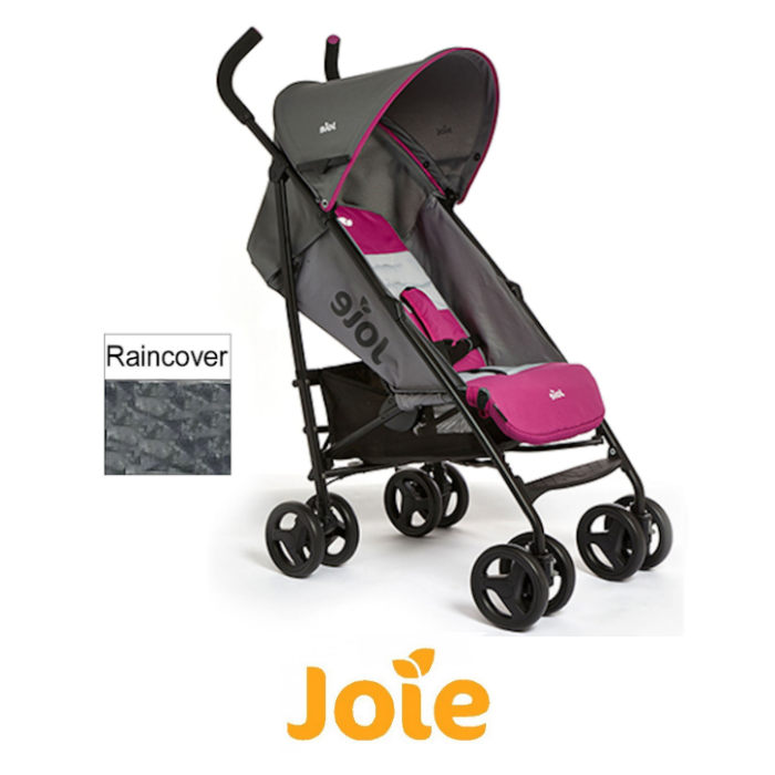 Joie Nitro Stroller - Charcoal-Pink
