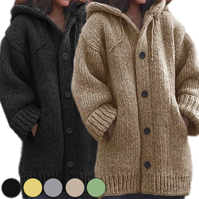Chunky Knitwear Cardigan - 5 Colours & Sizes 6 to 20!