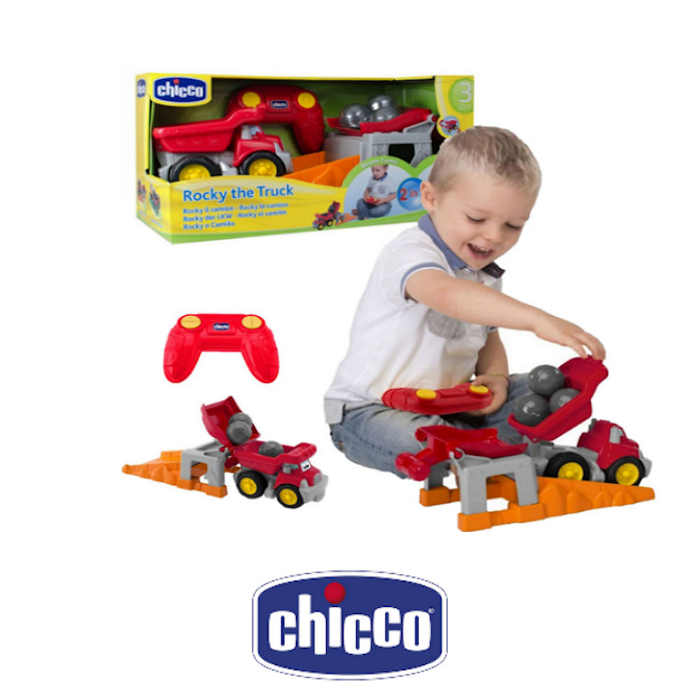 Chicco 2in1 Rocky The Truck Remote Control Toy