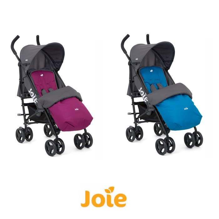 Joie Nitro Pushchair Stroller with Reversible Footmuff