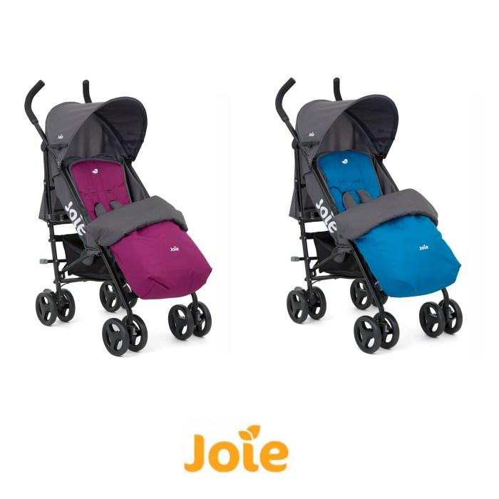 Joie Nitro Pushchair Stroller with Reversible Footmuff