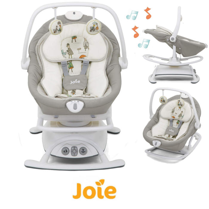 Joie Sansa 2in1 Rocker  Soother - In The Rain