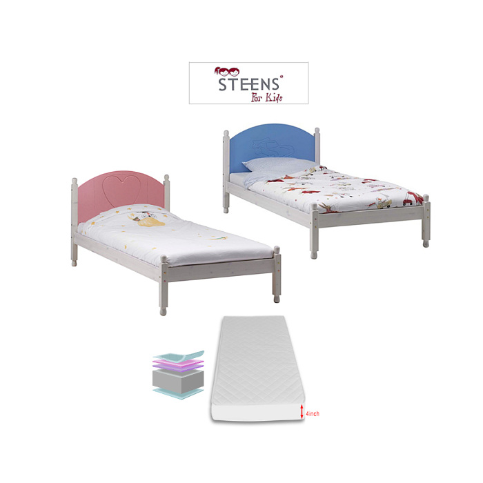 Steens Single Bed with Foam Mattress