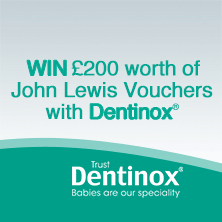 WIN £200 worth of John Lewis Vouchers with Dentinox