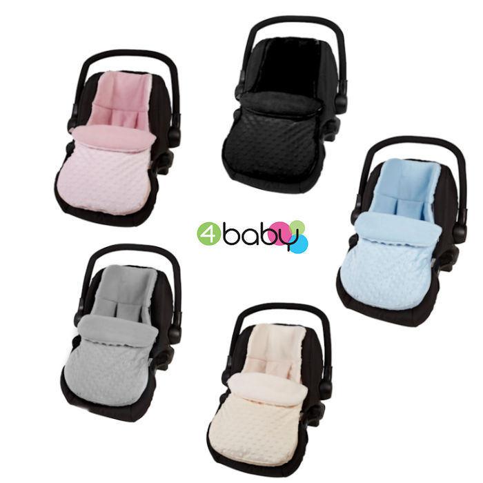 4baby Car Seat Footmuff - Dimple  - Copy