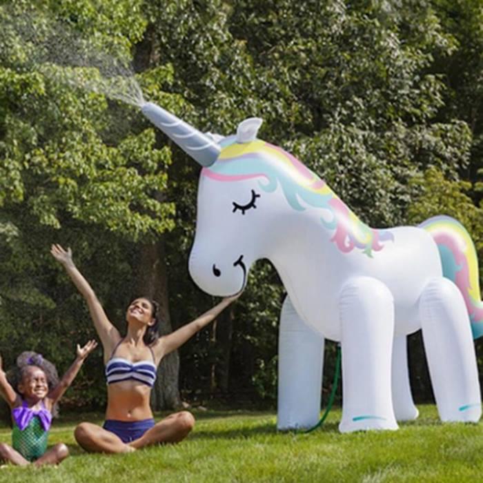 Giant 6ft Inflatable Unicorn Sprinkler