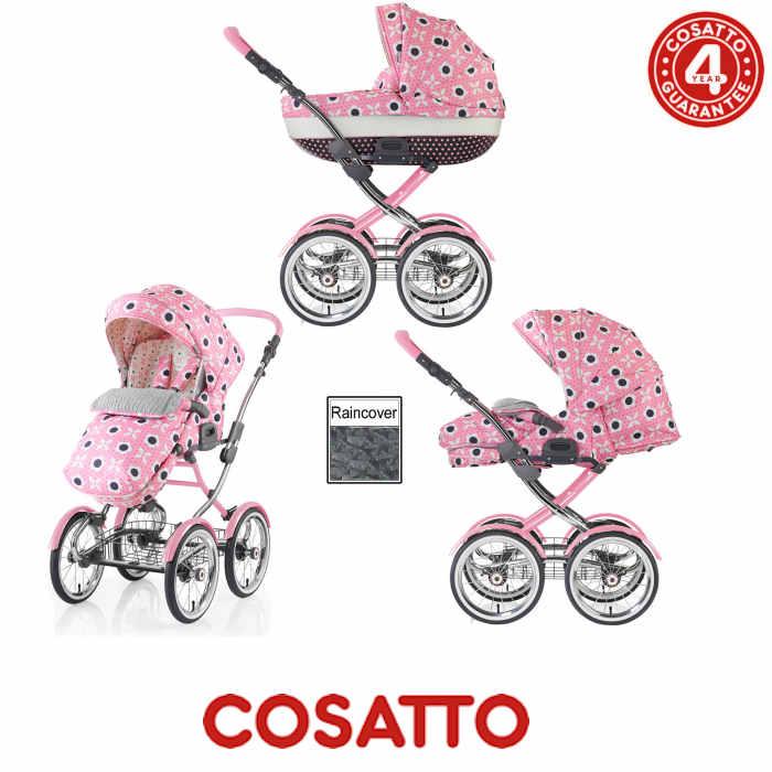 Cosatto Wonder 3 in 1 Pram / Pushchair - Bon Bon