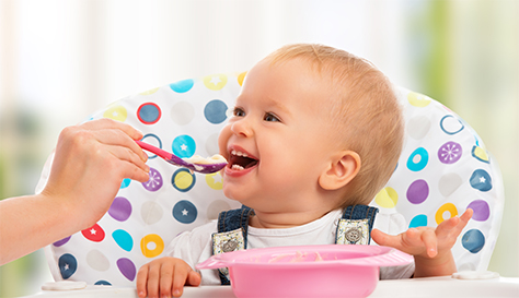 Spoon led weaning