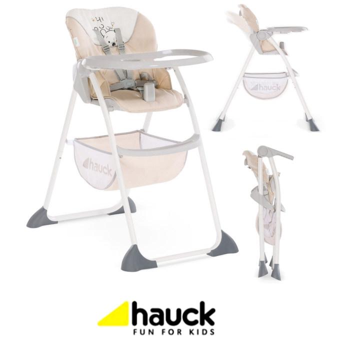 Hauck Disney Sit n Fold Highchair - Pooh Cuddles