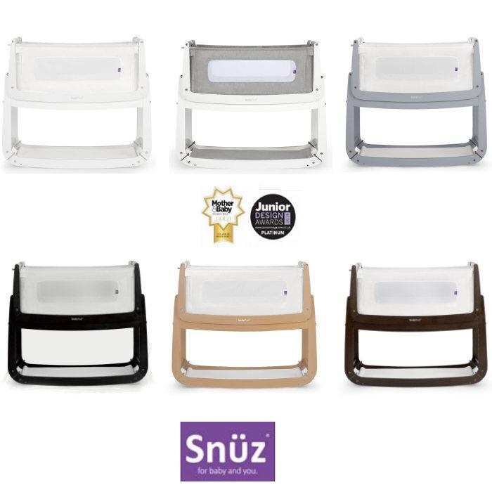 Snuz SnuzPod3 Bedside Crib 3 in 1 With Mattress