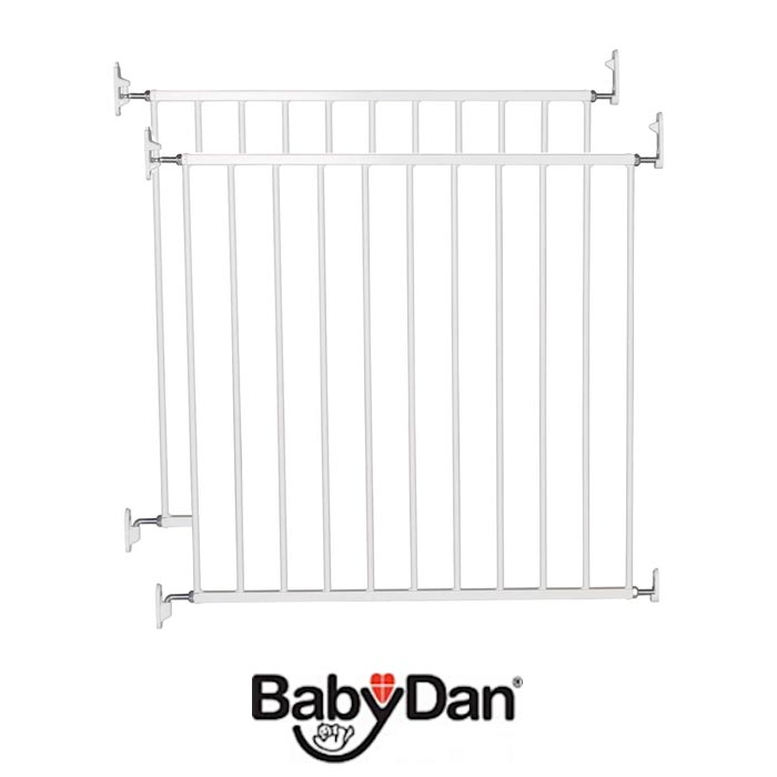 BabyDan No Trip Baby Safety Gate (Pack of 2)