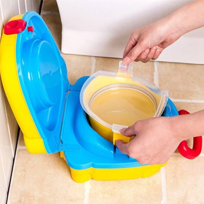 Kids Portable Potty Training Toilet Seat - 2 Colours