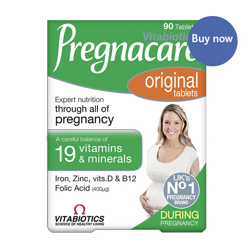 Vitamins and Supplements Vitabiotics Pregnacare