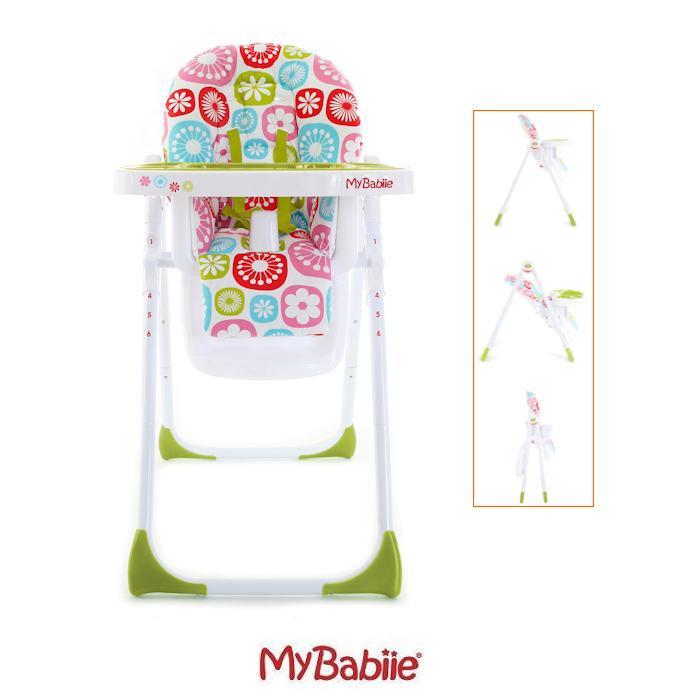 My Babiie MBHC8 Highchair - Floral