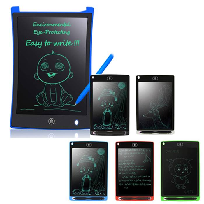 LCD Digital Drawing Pad – 2 Designs & 5 Colours