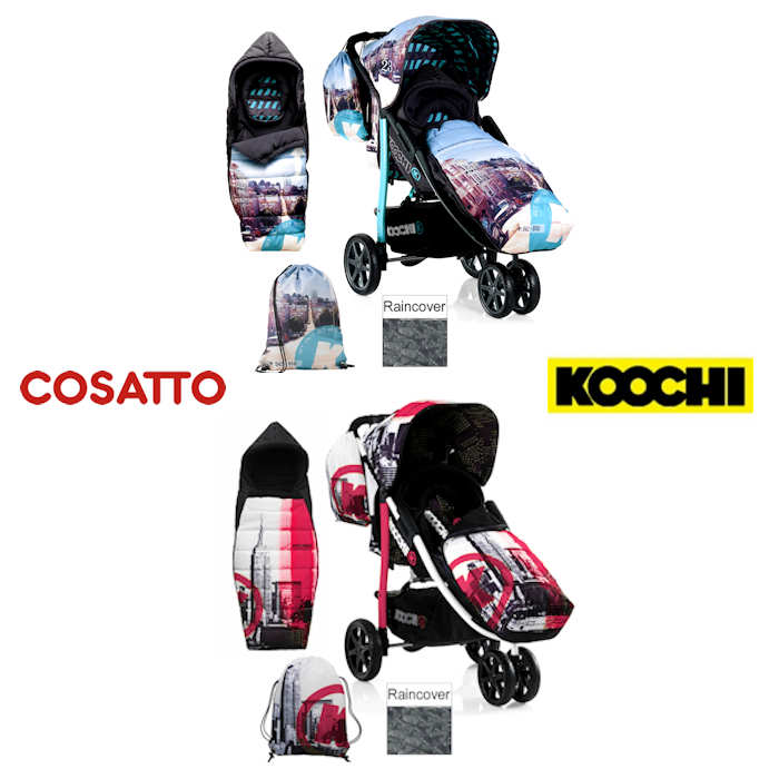 Koochi Pushmatic 3 Wheeler Pushchair