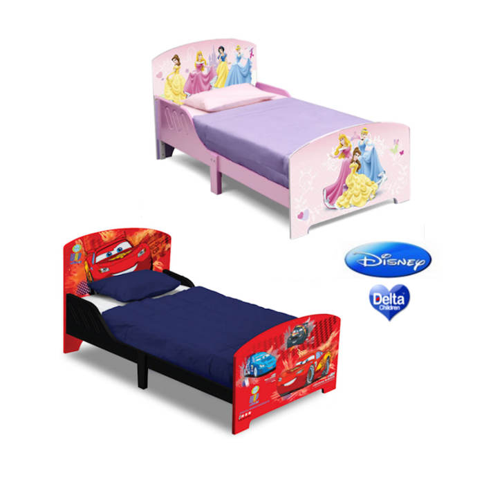 Delta Children Deluxe Wooden Toddler Bed - Disney