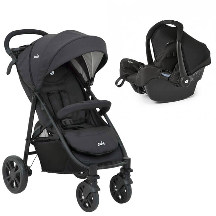 Joie Litetrax and Car Seat -MAIN IMAGE