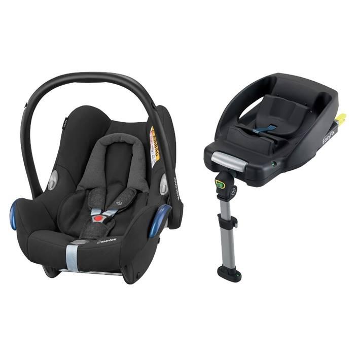 Maxi-Cosi CabrioFix Car Seat & EasyFix Base (Nomad Black)