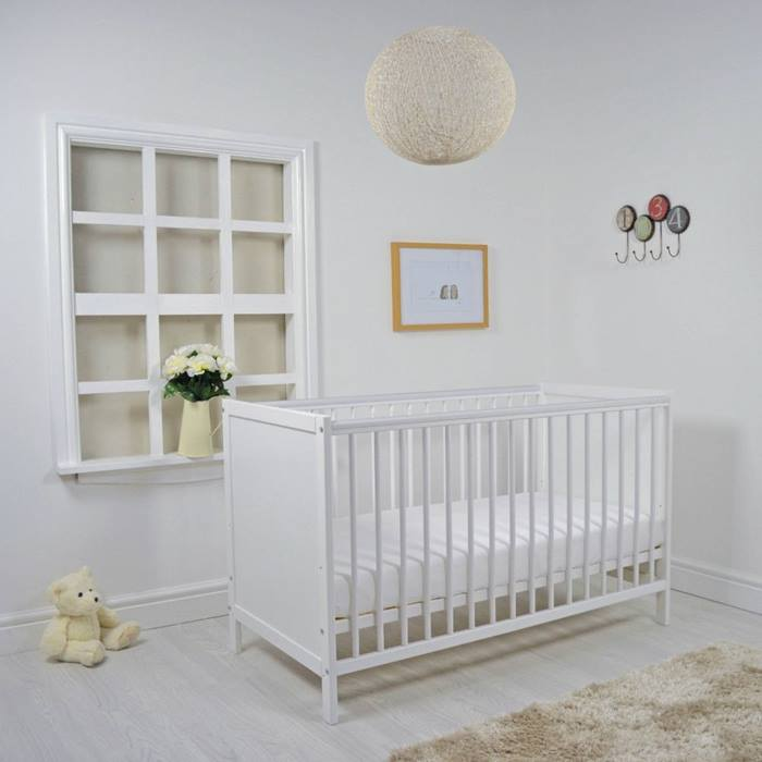 Cuddles Collection Kareena Cot & Mattress