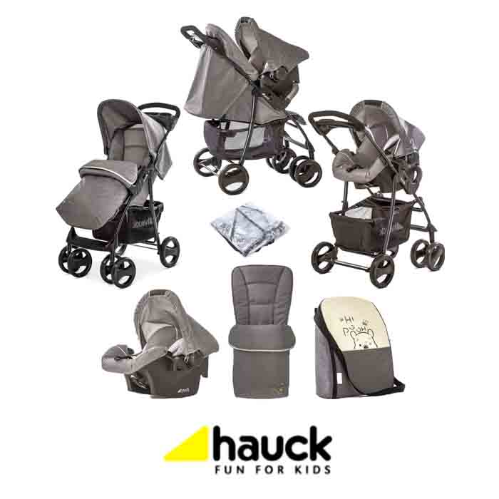 Hauck Disney Shopper SLX Shop n Drive Travel System - Pooh Cuddles