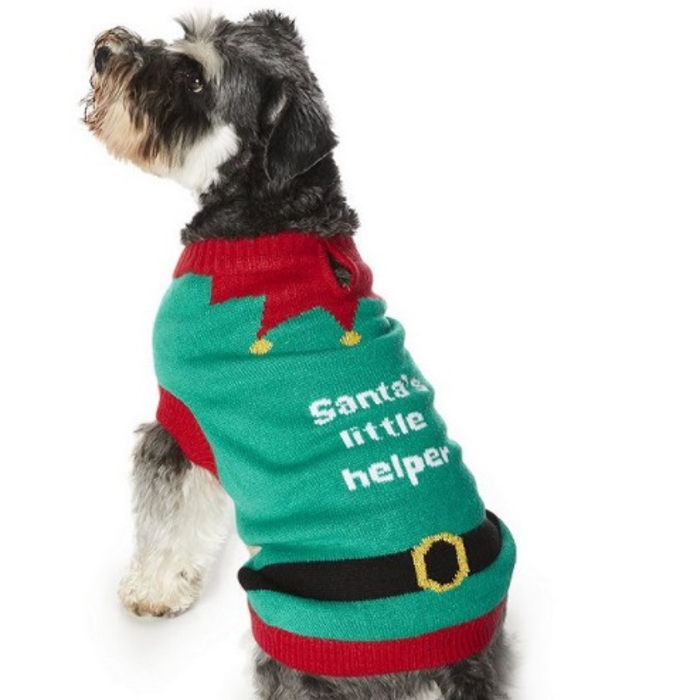 Tesco dog xmas jumper